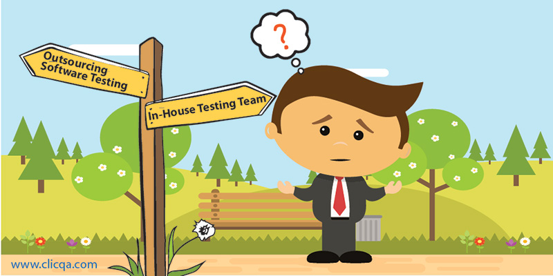 Outsourced Software Testing or In-house Team? Answer to the Riddle
